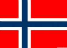 NORWAY - 8 X 5 FLAG